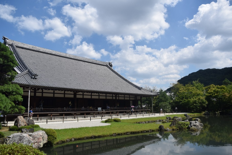 Tenryuji Temple overlooking the pond garden. | Photo by Alexandra Pamias