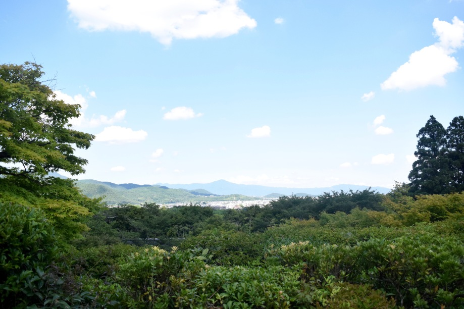 View from the slopes of Mount Ogura where Okochi Sanso is Located | Photo by Alexandra Pamias