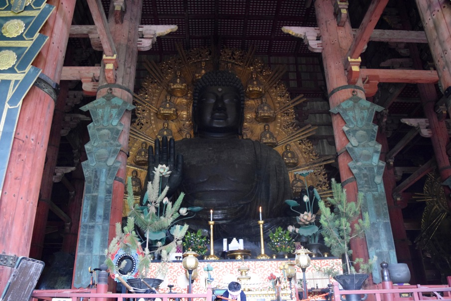 The Great Buddha at Nara's Todai-ji Temple is one of the major sigh-seeing locations in Japan | Photo by Alexandra Pamias